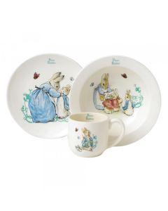 Beatrix Potter Peter Rabbit 3 Piece Nursery Set Enesco A25864