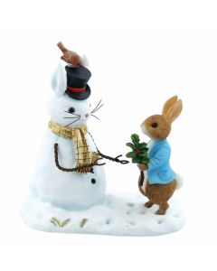 Beatrix Potter Peter Rabbit and Snow Rabbit Enesco A28965