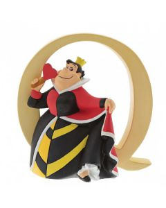 "Alphabet Letter ""Q"" - Queen of HeartsA29562 by Disney Enesco"