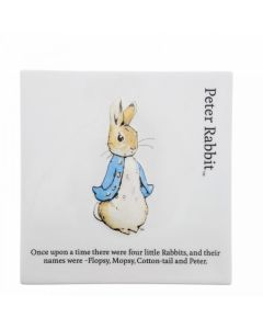 Beatrix Potter Peter Rabbit Decorative Wall Plaque Enesco A30125