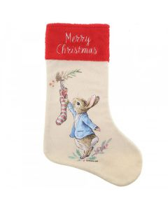 Beatrix Potter Peter Rabbit Christmas Stocking Enesco A30190