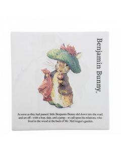 Beatrix Potter Benjamin Bunny Decorative Wall Plaque Enesco A30198