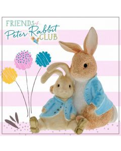 Peter Rabbit with Bunny Instant Membership Kit 2021 NEW for 2021 by Enesco A30397