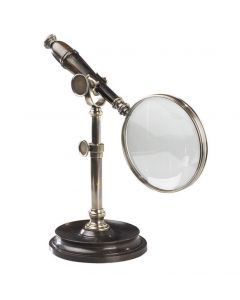 Authentic Models Magnifying Glass with stand,Bronzed AC099E