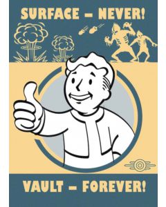 Fallout 4 Vault Forever Maxi Poster by GB Eye FP4149