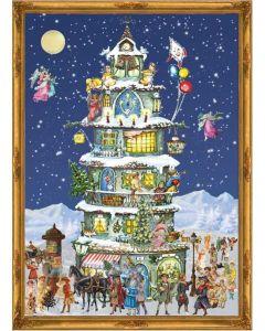 Richard Sellmer Advent Calendar Christmas Tower 70104