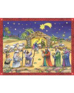 Richard Sellmer Advent Calendar We've seen a Star Traditional 70111