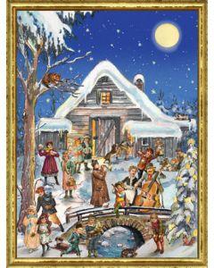 Richard Sellmer Advent Calendar Christmas Musicians 70113