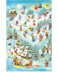 Richard Sellmar Advent Calendar On the Skiing Mountain 70114