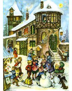 Richard Sellmer Advent Calendar Fun in the Snow 701