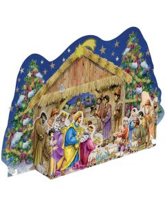 Richard Sellmer 3D Traditional Advent Calendar At the Christmas Crib 935