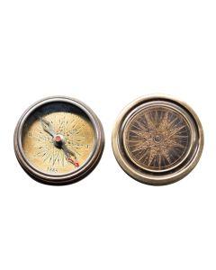 Authentic Models Antique Pocket Compass CO036