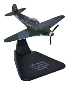 Oxford Diecast Yak 3 Normandie Regiment 1945 AC054