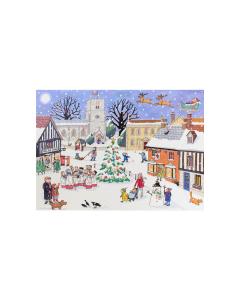 Alison Gardiner Christmas in the Village Advent Calendar Card ACC1