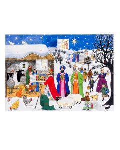 Alison Gardiner Jesus is Born Advent Calendar AC2