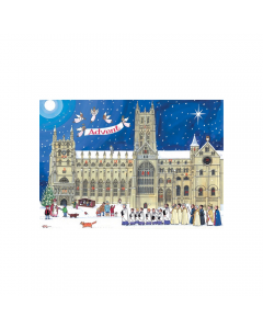 Alison Gardiner Christmas at the Cathedral Advent Calendar Card ACC4