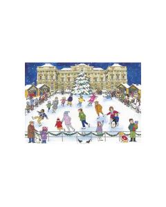 ACC7 Christmas Ice Skating Advent Calendar by Alison Gardiner