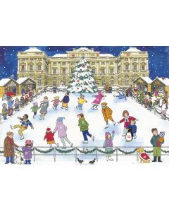 Alison Gardiner Christmas Ice Skating Advent Calendar ACC7