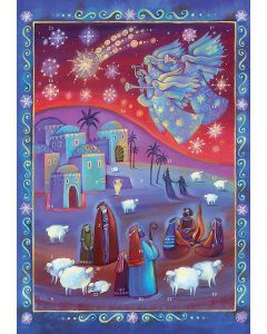 ACL70993 The Shepherds Watch Traditional Advent Calendar by Coppenrath