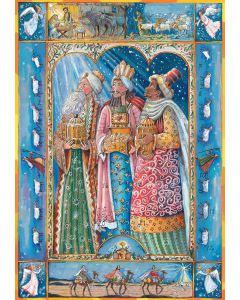 Coppenrath The Three Wise Men Traditional Advent Calendar ACL7146