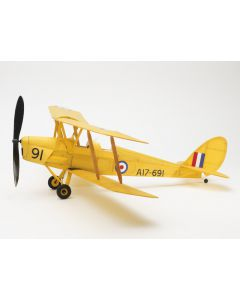 De Havilland Tiger Moth Balsa Wood Kit 1:24 by The Vintage Model Company VMC04