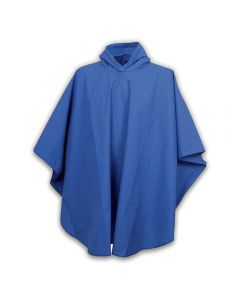 Rain Poncho with pouch 3100-AD Blue