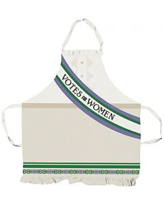 Votes for Women Apron - Robert Opie Collection APRNSG01