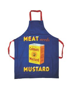 Colman's Mustard apron by the Robert Opie Collection APRNCM01