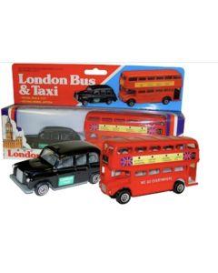 Bus & Taxi Set (London) by Thomas Benacci 382