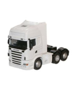 Oxford Diecast Scania Cab, White 1:50 CR026