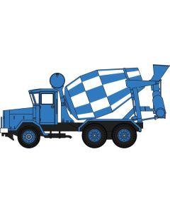 Oxford Diecast AEC 690 Cement Mixer Blue 76ACM001