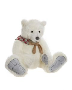 Charlie Bears Barret Plush Polar Bear CB202061