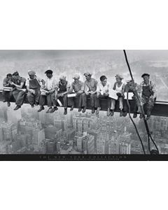 New York Men on Girder Maxi Poster by GB Eye FP0432