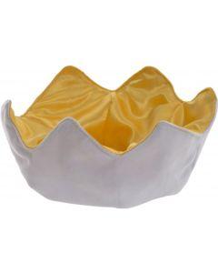 CB185198 Plush Egg Cup by Charlie Bears 12cm