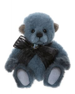 Charlie Bears Bluebeary Minimo Teddy Bear Mohair/Wool MM206076B