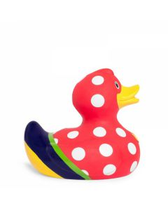 Bud Ducks Sunday Duck Collectable Rubber Bath Toy BUD1278