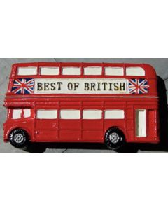 London Bus Fridge Magnet by Elgate 13055