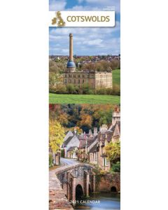 Cotswolds 2021 Slim Calendar by Carousel Calendars 210046