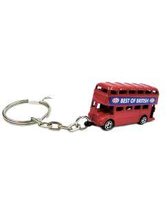 London Bus Metal Key Ring by Elgate 11054