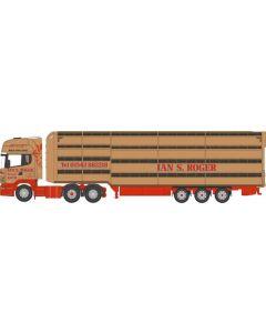 Oxford Diecast Scania Houghton Parkhouse Livestock Transporter Ian S Roger 76SCA02LT