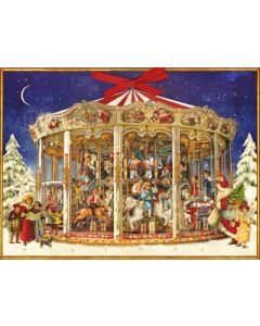 Coppenrath The Christmas Carousel Traditional Advent Calendar 70300