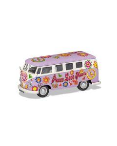 Corgi CC02730 Volkswagen Campervan Peace Love and Music