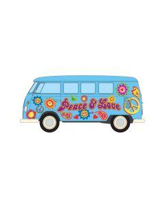 Corgi CC02738 Volkswagen Campervan Peace Love and Freedom
