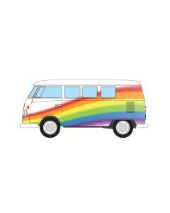 Corgi CC02739 Volkswagen Campervan Peace Love and Rainbow