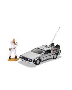 ORGI CC05503 Back to the Future DeLorean and Doc Brown Figure