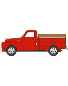 Oxford Diecast Dodge B-1B Pick Up 1948 Truck Red 87DP48001