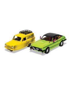 Corgi Del Boy's Reliant Regal and Ford Capri MkII Set CC99189