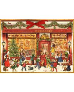 Coppenrath The Chocolate Shop Traditional Advent Calendar 92685