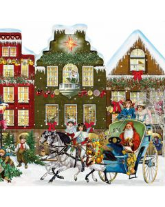 Coppenrath Free Standing Christmas Street Traditional Advent Calendar 92398