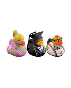 Bud Ducks College Set of 3 Mini Ducks BUD1071